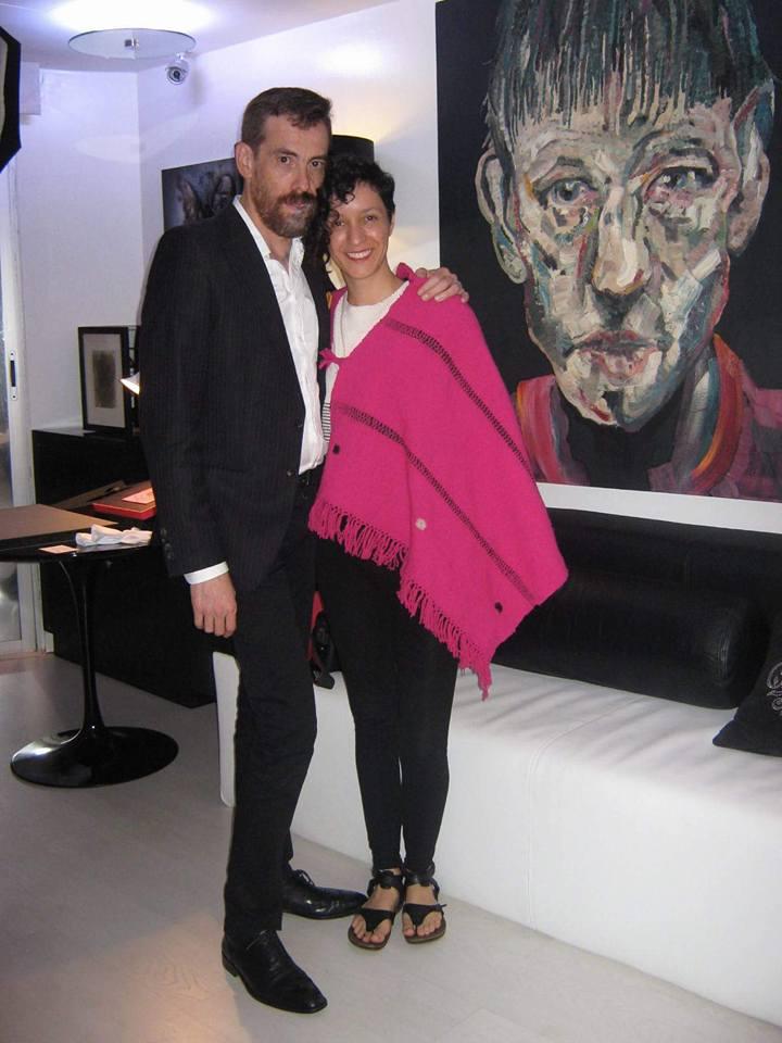 Alejandra Zermeño y José Antonio Farrera