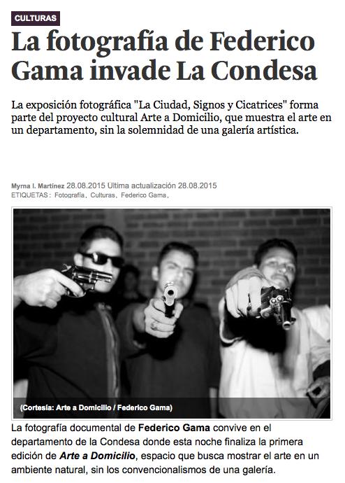 La fotografía de Federico Gama invade La Condesa
