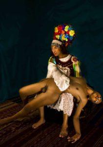 De la serie fotográfica Erótica Mitológica - Perú.