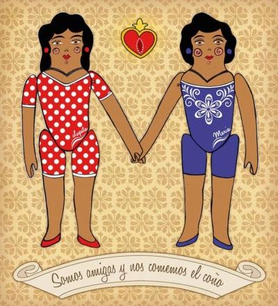 Lupita y María